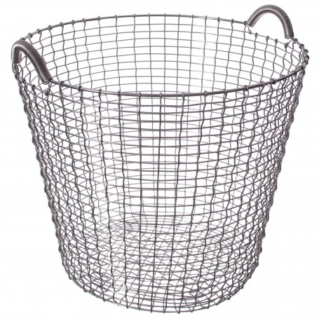 WIRE BASKET ACID PROOF STAINLESS 65 LITERS
