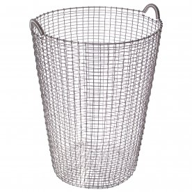 WIRE BASKET ACID PROOF STAINLESS 120 LITERS