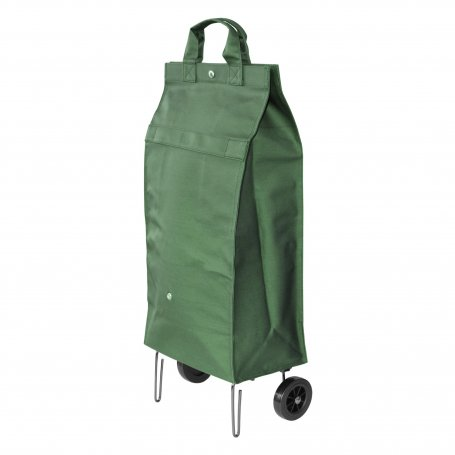 SAC A ROULETTES VERT