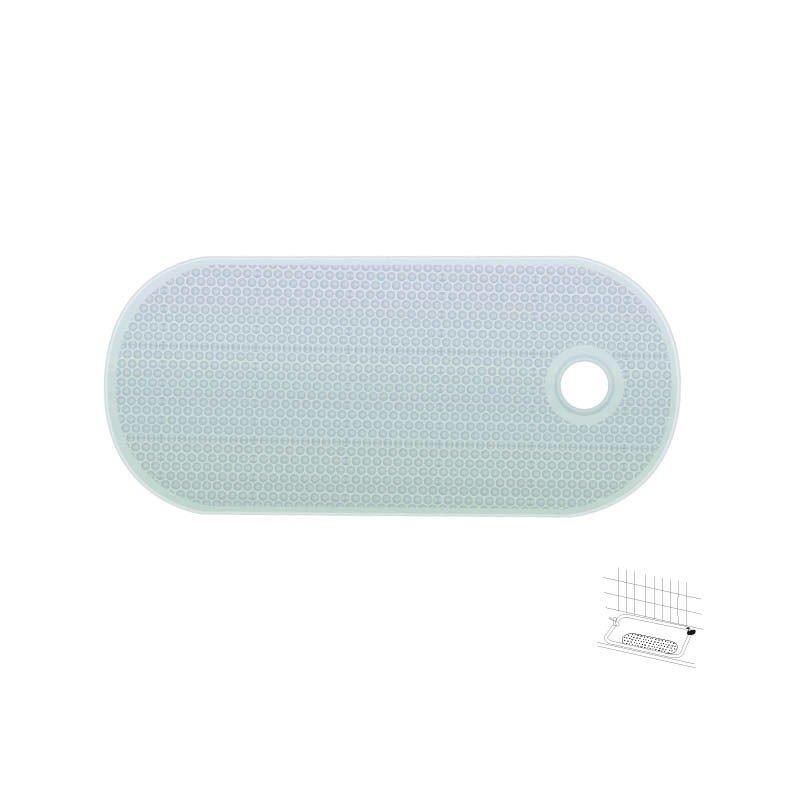tapis baignoire ovale loading zoom - Tapis Baignoire