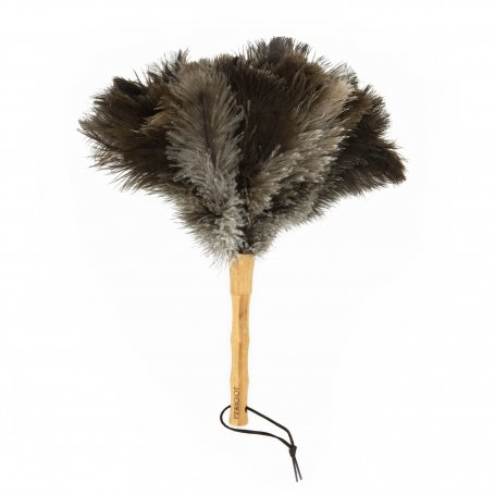DUSTER OSTRICH & BAMBOO SMALL