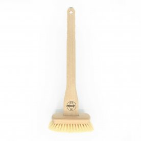 TUB BRUSH WITH VEGETABLE FIBER