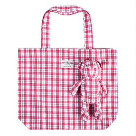 BEAR BAG SHOPPER PASTORAL MEDIUM