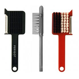 VEGETABLE PEELER BRUSH 5 IN 1 MULTIFUNCTION