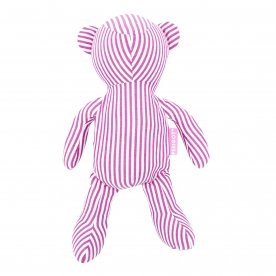 BEAR BAG SHOPPER PINK STRIPE