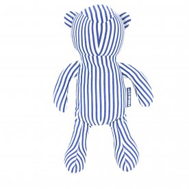 BEAR BAG SHOPPER BLUE STRIPE