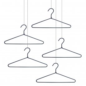 HANGER SCOUBIDOU SET OF 5