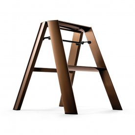"ALUMINIUM STEP STOOL ""FOLDABLE"" BRONZE"