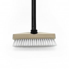 SCRUBBING BROOM WITH TELESCOPIC HANDLE